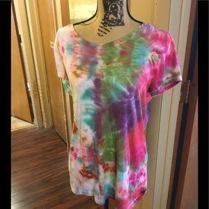 Tie dye shirt by no boundaries